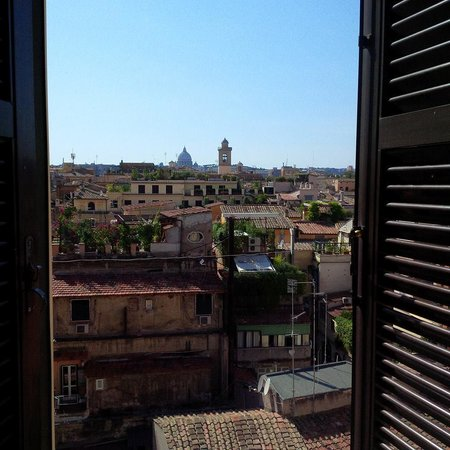 Hotel Nazionale: View from our room! (516)