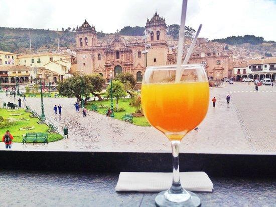 Plaza de Armas Cusco Hotel: excelente ubicacion