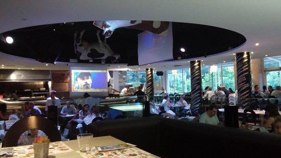 Mucca Pazza : la sala