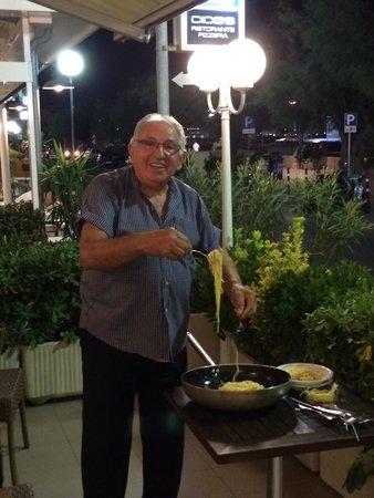 Hotel Lungomare : La spaghettata di mezzanotte !!!