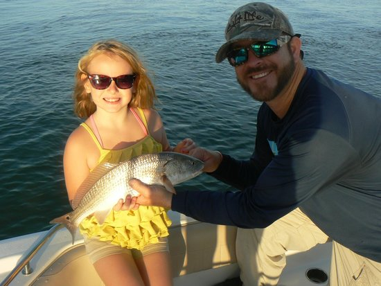 One Love Charters: Emily's Red Fish... And dinner that night! :)