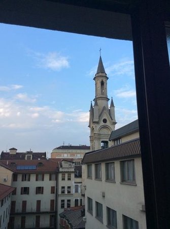 NH Torino Centro : view from 5th floor room