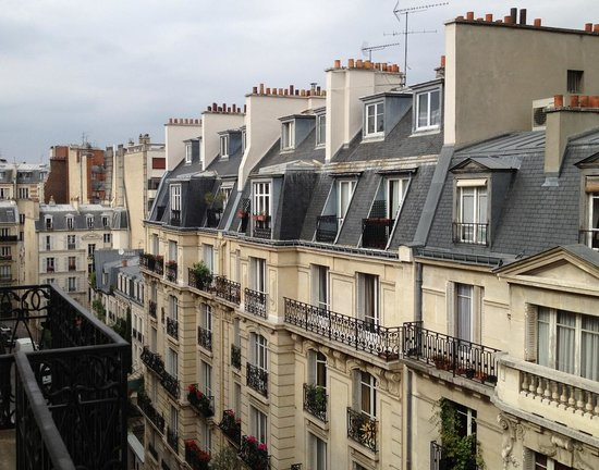 BEST WESTERN PREMIER Trocadero La Tour: Balcony View