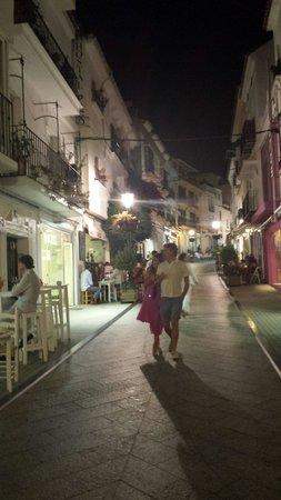 Casco antiguo de Marbella: Calles