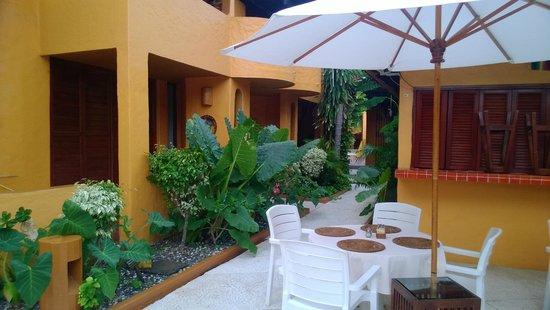 Villas Miramar: Area de restaurant