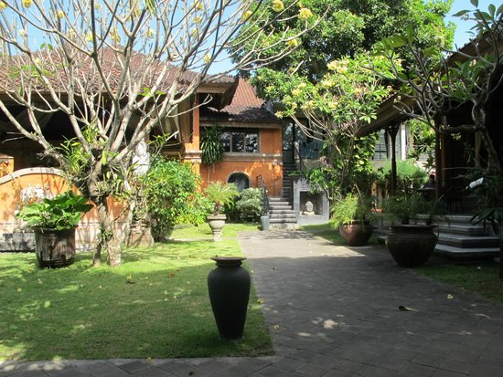 Puri Maharani Boutique Hotel & Spa : Garden View