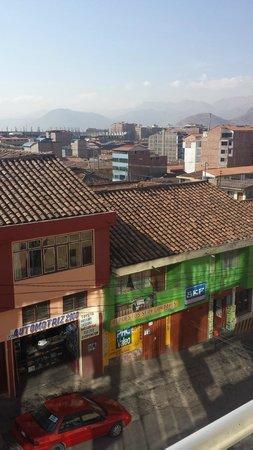 Hotel Unumizu Cusco: View from the balcony