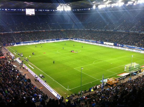 fankurve picture of volksparkstadion hamburg tripadvisor. Black Bedroom Furniture Sets. Home Design Ideas