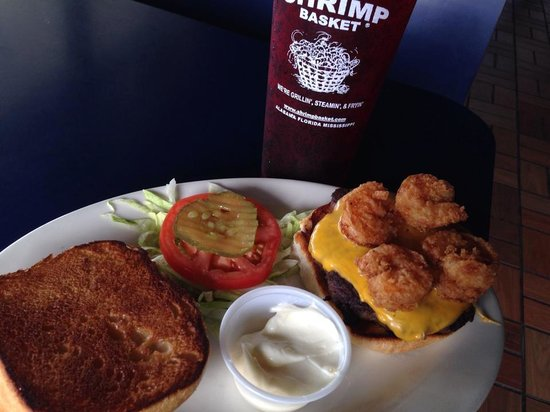 Shrimp Basket: Gormet Burgers