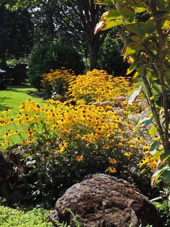 Oregon Garden Resort: part of the gardens