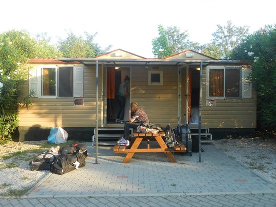 Camping Village Roma: Unser Bungalow