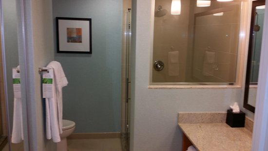 HYATT house Fort Lauderdale Airport & Cruise Port: The bathroom