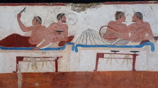 Museo Archeologico Nazionale di Paestum : Tomba del Tuffatore
