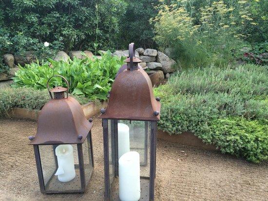 Love the garden lanterns - Picture of State Road Restaurant, West ...