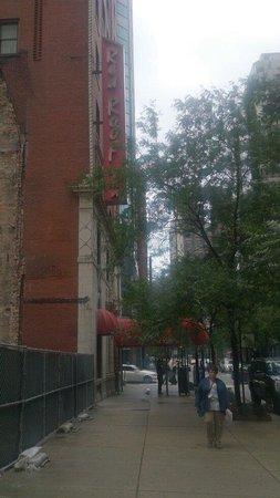 Red Roof Inn Chicago Downtown Magnificent Mile: Entrada vista de lado