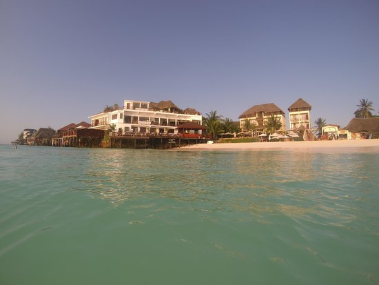 The Z Hotel Zanzibar: hotel and restaurant
