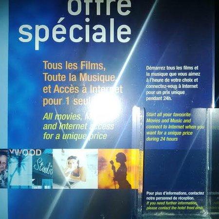 Forest Hill Paris La Villette: offre mensongère sur l'accès internet