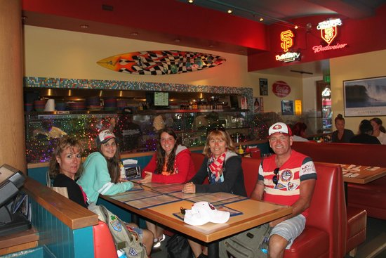 Wipeout Bar & Grill : ma famille