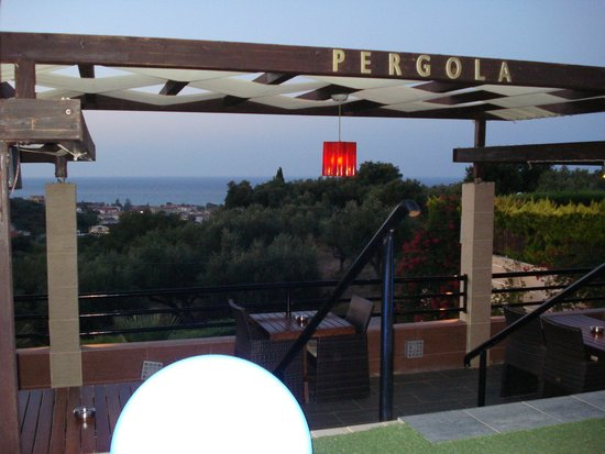 St.John Resort Hotel Villas Suites & Spa: view from the pergola bar and restaurant