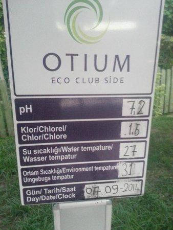 Otium Eco Club Side: превышено содержание хлорки в детском бассейне