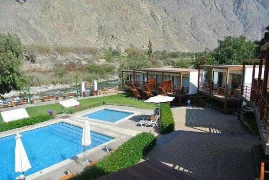 El Molino Hotel & Restaurante : LINDA VISTA