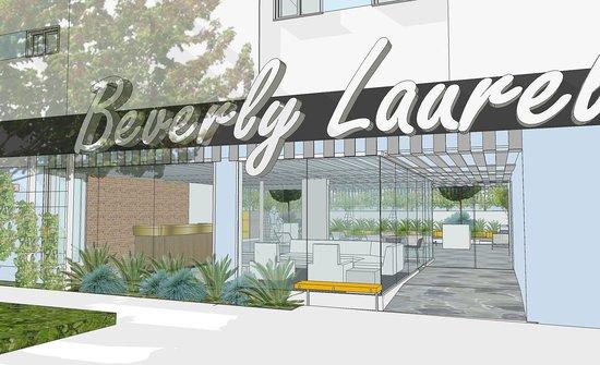 Under renovation picture of beverly laurel motor hotel for Beverly laurel motor inn