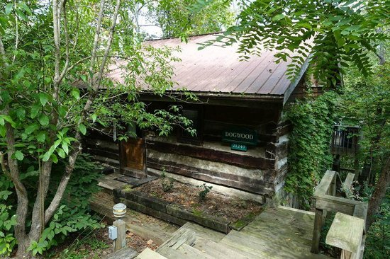 The Inn & Spa at Cedar Falls: Dogwood cabin - outside