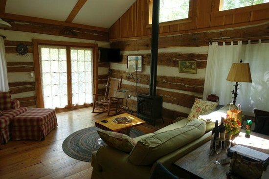 The Inn & Spa at Cedar Falls: Dogwood cabin - 1st floor