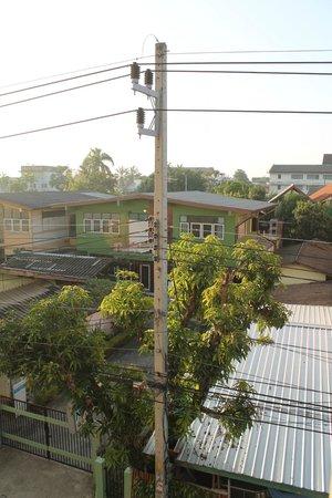 Dozy House: Blick aus dem Zimmerfenster