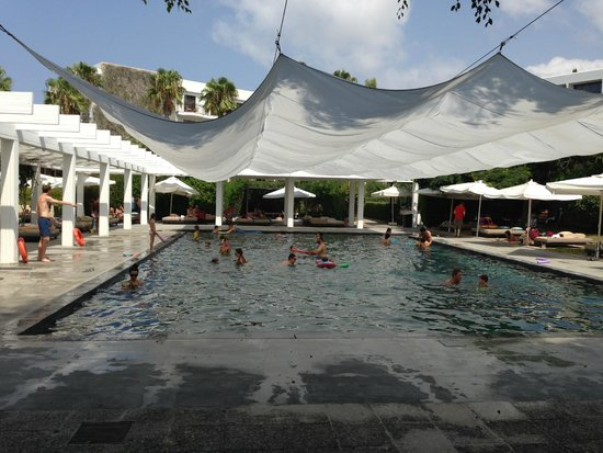 Almyra Hotel : Awful covered pool