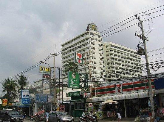 Grand Jomtien Palace: hotel