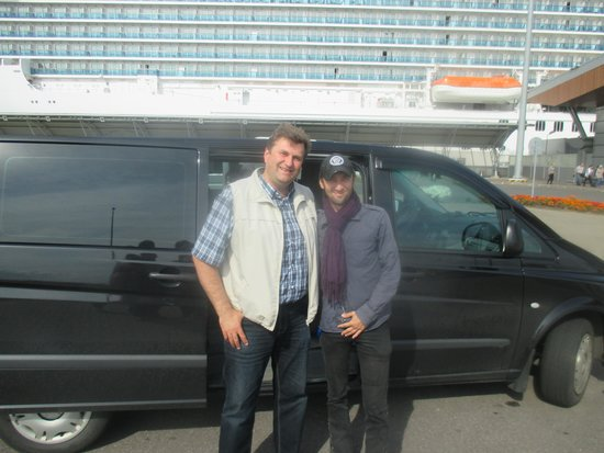 Fourth Century Company - Day Tours: Our driver Yuri and guide, Eugene!