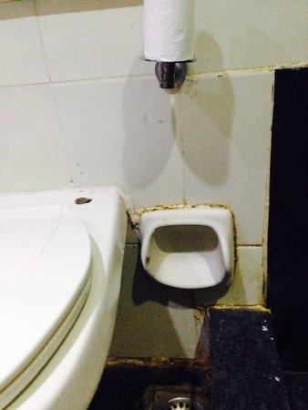 Ramada Chennai Egmore: Bathroom.