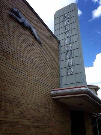 Freedom Rides Museum: Greyhound Station Sign