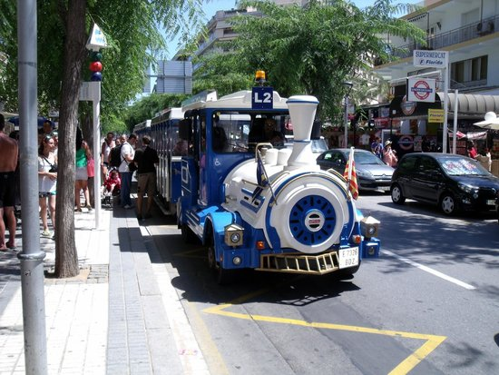Tourist Train Salou