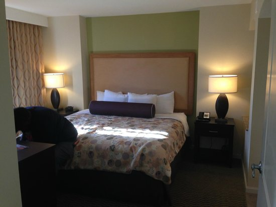 The Grandview at Las Vegas: King size bed