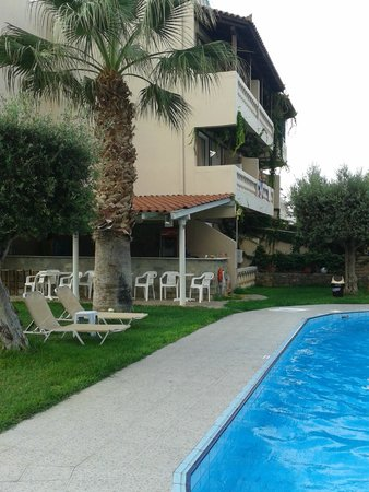 Aggelo Hotel Stalis : view from the family rooms