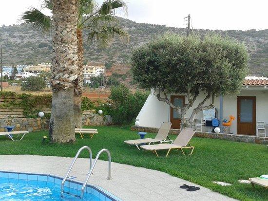 Aggelo Hotel Stalis : garden