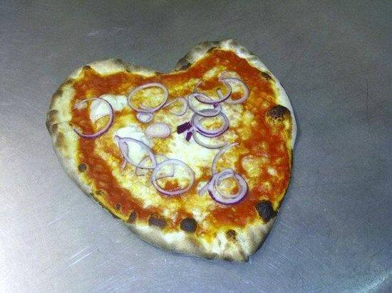 Brasserie IL Capriani: pizza margarina