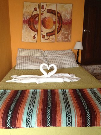 MiraMar Yelapa: Our bed awaits