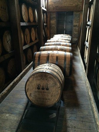 Woodford Reserve Distillery : aging
