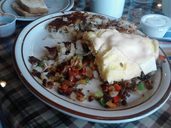 Southwestern Omelet - Picture of Judys Country Kitchen Restaurant ...