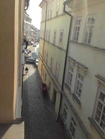 Alchymist Grand Hotel & Spa: View of our quiet street