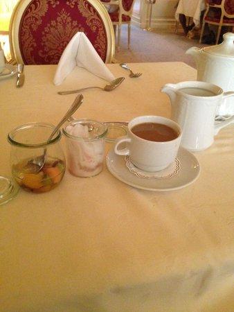 Alchymist Grand Hotel & Spa: Sampling of breakfast items