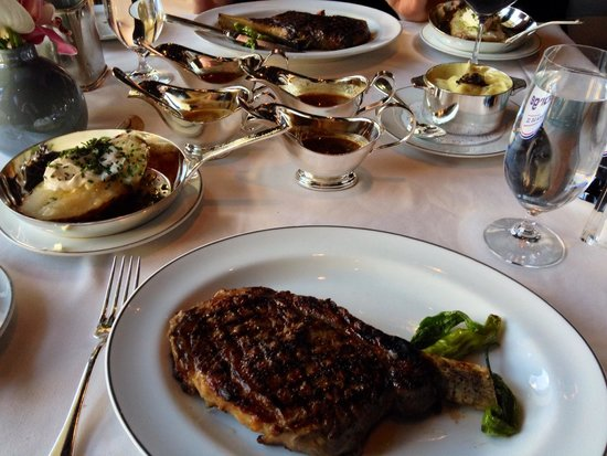 Prime Steakhouse : 18oz Bone-in Ribeyes (these are the smaller ones, others are 28oz)