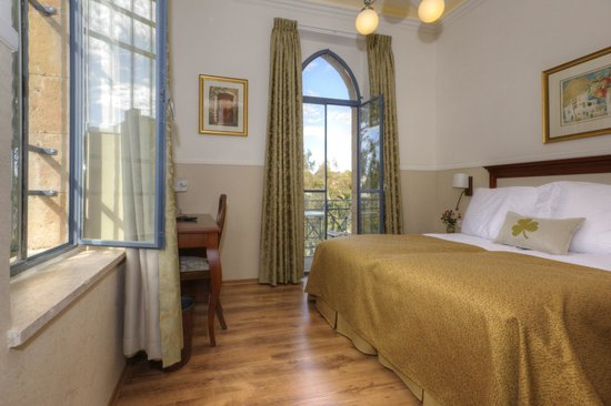 Arcadia Ba'Moshava Jerusalem : Room with Balcony