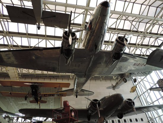 National Air and Space Museum: A few of the Smithsonian's aeroplanes!