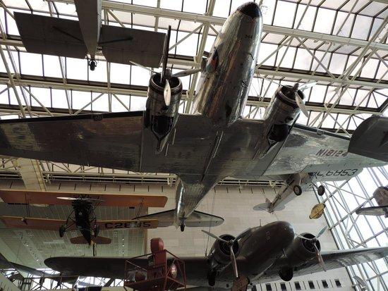 Museo Nacional del Aire y el Espacio: A few of the Smithsonian's aeroplanes!