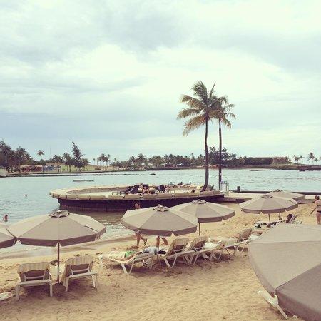 Caribe Hilton San Juan: Private beach