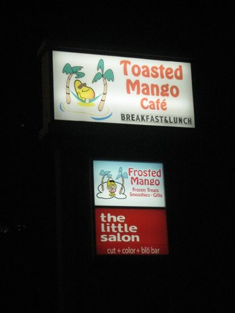Toasted Mango : Easy to find even if it is dark!